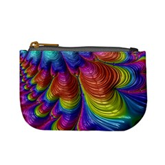 Radiant Sunday Neon Coin Change Purse