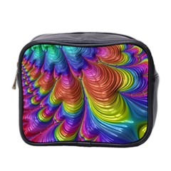 Radiant Sunday Neon Mini Travel Toiletry Bag (Two Sides)