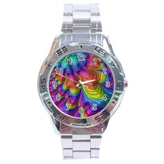 Radiant Sunday Neon Stainless Steel Watch