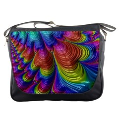 Radiant Sunday Neon Messenger Bag
