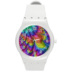 Radiant Sunday Neon Plastic Sport Watch (Medium)