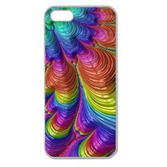 Radiant Sunday Neon Apple Seamless Iphone 5 Case (clear)
