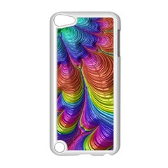 Radiant Sunday Neon Apple iPod Touch 5 Case (White)