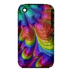 Radiant Sunday Neon Apple Iphone 3g/3gs Hardshell Case (pc+silicone)