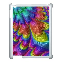 Radiant Sunday Neon Apple Ipad 3/4 Case (white)
