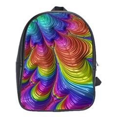Radiant Sunday Neon School Bag (XL)