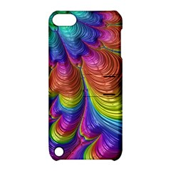 Radiant Sunday Neon Apple iPod Touch 5 Hardshell Case with Stand