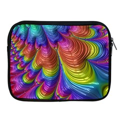 Radiant Sunday Neon Apple iPad Zippered Sleeve