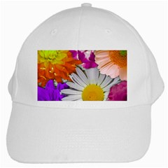 Lovely Flowers,purple White Baseball Cap