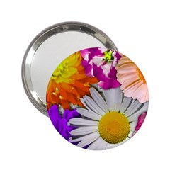 Lovely Flowers,purple Handbag Mirror (2.25 )