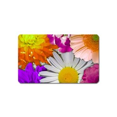 Lovely Flowers,purple Magnet (Name Card)