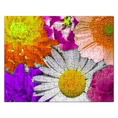 Lovely Flowers,purple Jigsaw Puzzle (rectangle)