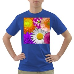 Lovely Flowers,purple Men s T-shirt (Colored)