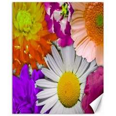 Lovely Flowers,purple Canvas 16  x 20  (Unframed)