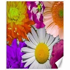 Lovely Flowers,purple Canvas 20  x 24  (Unframed)