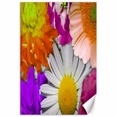 Lovely Flowers,purple Canvas 20  x 30  (Unframed)