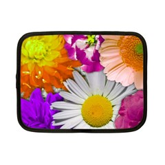Lovely Flowers,purple Netbook Sleeve (small)