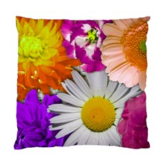 Lovely Flowers,purple Cushion Case (Two Sided)