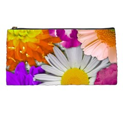 Lovely Flowers,purple Pencil Case