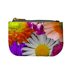 Lovely Flowers,purple Coin Change Purse