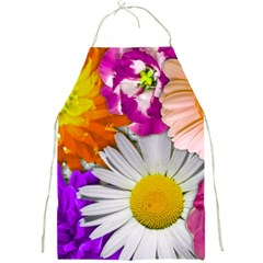 Lovely Flowers,purple Apron