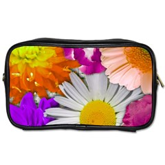 Lovely Flowers,purple Travel Toiletry Bag (Two Sides)