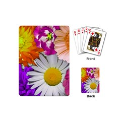 Lovely Flowers,purple Playing Cards (Mini)