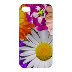 Lovely Flowers,purple Apple iPhone 4/4S Hardshell Case
