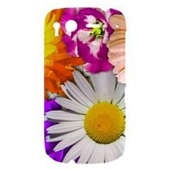 Lovely Flowers,purple HTC Desire S Hardshell Case