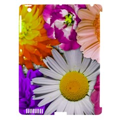 Lovely Flowers,purple Apple Ipad 3/4 Hardshell Case (compatible With Smart Cover)