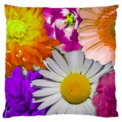 Lovely Flowers,purple Large Cushion Case (Two Sided)