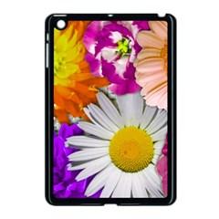 Lovely Flowers,purple Apple iPad Mini Case (Black)