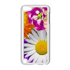 Lovely Flowers,purple Apple iPod Touch 5 Case (White)