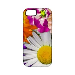 Lovely Flowers,purple Apple Iphone 5 Classic Hardshell Case (pc+silicone)