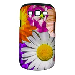 Lovely Flowers,purple Samsung Galaxy S III Classic Hardshell Case (PC+Silicone)