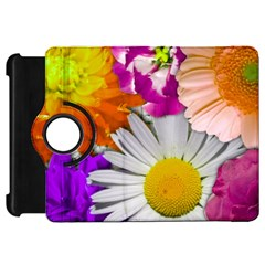 Lovely Flowers,purple Kindle Fire HD 7  (1st Gen) Flip 360 Case