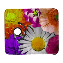 Lovely Flowers,purple Samsung Galaxy S  III Flip 360 Case