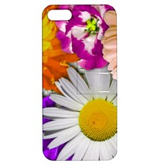 Lovely Flowers,purple Apple Iphone 5 Hardshell Case With Stand