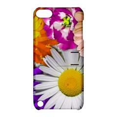 Lovely Flowers,purple Apple iPod Touch 5 Hardshell Case with Stand