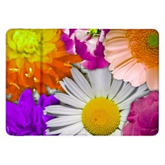 Lovely Flowers,purple Samsung Galaxy Tab 8.9  P7300 Flip Case