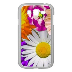 Lovely Flowers,purple Samsung Galaxy Grand DUOS I9082 Case (White)