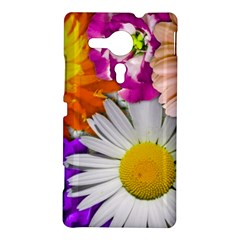 Lovely Flowers,purple Sony Xperia SP M35H Hardshell Case