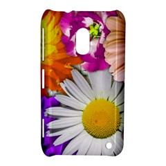 Lovely Flowers,purple Nokia Lumia 620 Hardshell Case