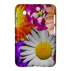 Lovely Flowers,purple Samsung Galaxy Tab 2 (7 ) P3100 Hardshell Case