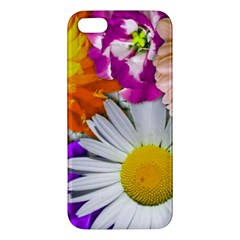 Lovely Flowers,purple iPhone 5S Premium Hardshell Case