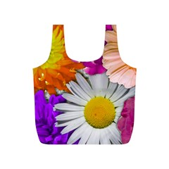 Lovely Flowers,purple Reusable Bag (S)