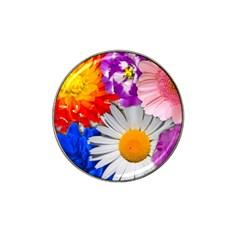 Lovely Flowers, Blue Golf Ball Marker (for Hat Clip)