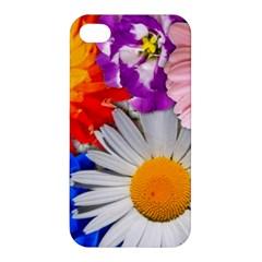 Lovely Flowers, Blue Apple iPhone 4/4S Premium Hardshell Case