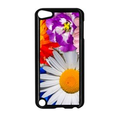 Lovely Flowers, Blue Apple iPod Touch 5 Case (Black)