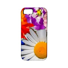 Lovely Flowers, Blue Apple Iphone 5 Classic Hardshell Case (pc+silicone)